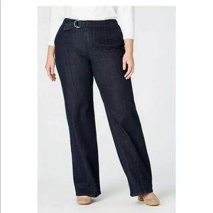 J. Jill Metropolitan Full Leg Jeans Size 16 NWT